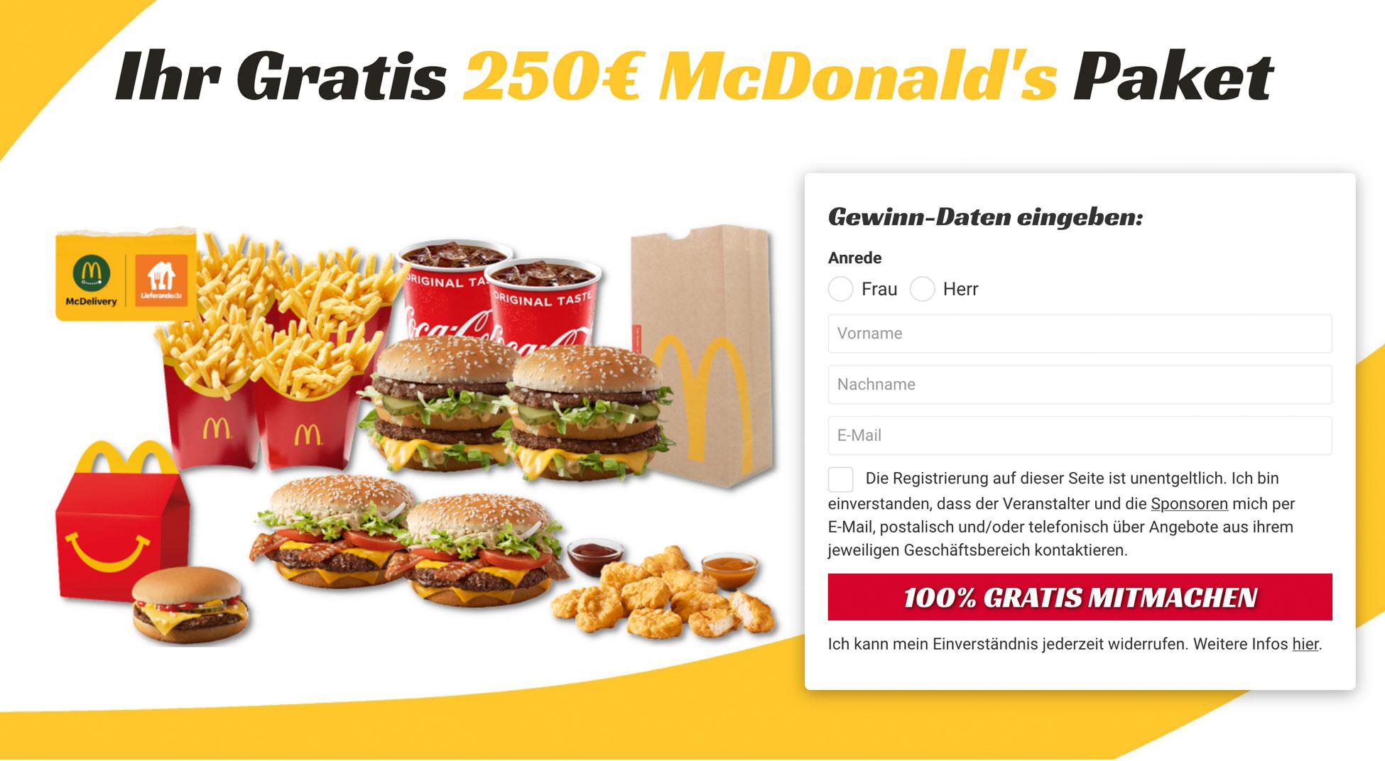 Burger-Gewinnen